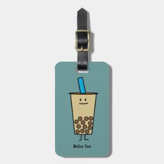 Boba Pearl Bubble Tea Luggage Tag
