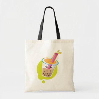 Boba Tea Canvas Bag