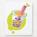 Boba Tea Mouse Pads