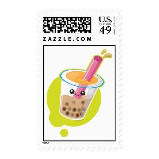 Boba Tea Postage Stamp