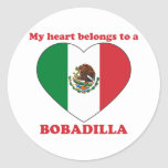Bobadilla Etiquetas Redondas