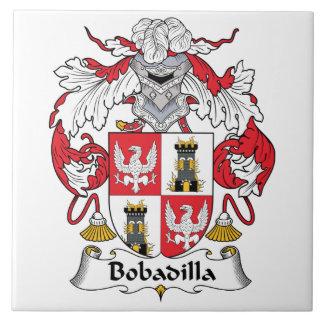 Bobadilla Family Crest Ceramic Tile