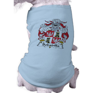 Bobadilla Family Crest Pet Clothing