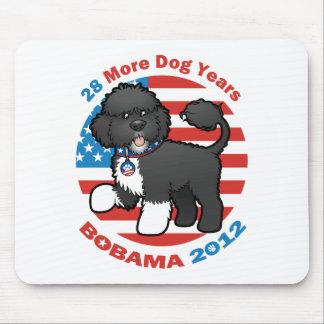 Bobama divertido las elecciones del perro 2012 alfombrillas de ratón
