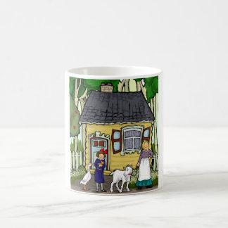 Bobbe, a little girl, a goat ,in the shtetel mugs