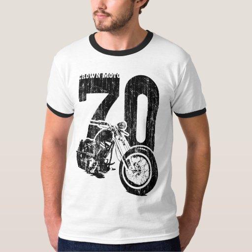 'Bobber 70 (negro del vintage) Playeras