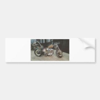 bobber bike bumper sticker