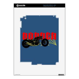 Bobber Bike iPad 2 Decal