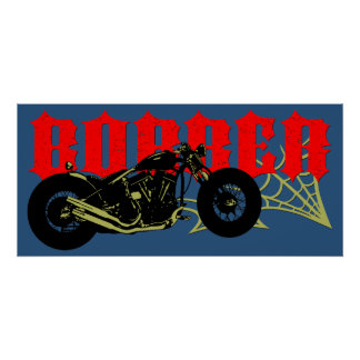 Bobber Bike Posters