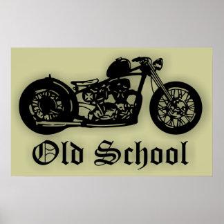 Bobber de la escuela vieja póster