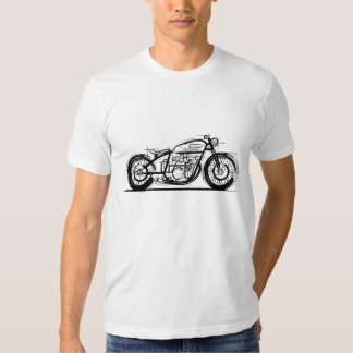 Bobber de la motocicleta playeras