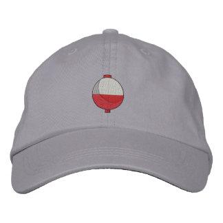 Bobber de la pesca gorras bordadas