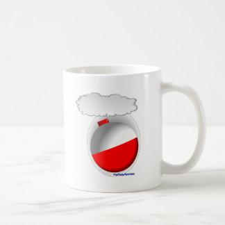 Bobber de la pesca que habla (flotador) taza de café