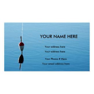 Bobber Fishing Business Card