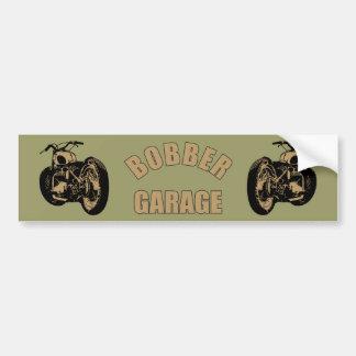 Bobber Garage Car Bumper Sticker
