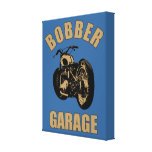Bobber Garage Gallery Wrapped Canvas