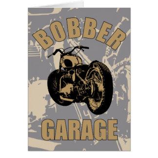 Bobber Garage Greeting Card