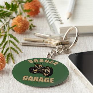 Bobber Garage Keychain