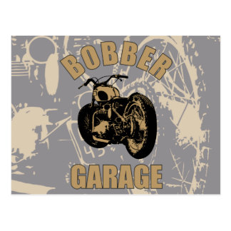 Bobber Garage Postcard