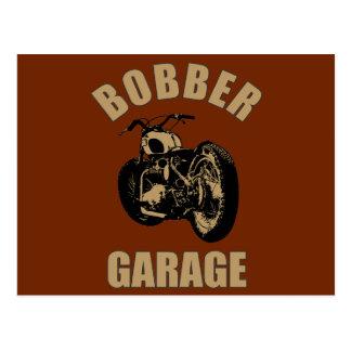 Bobber Garage Postcard