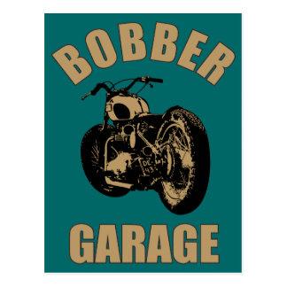Bobber Garage Post Card