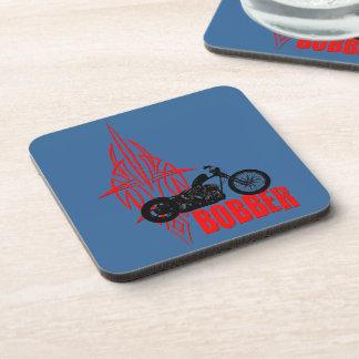 Bobber Motorbike Beverage Coaster