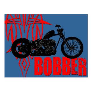 Bobber Motorbike Postcards