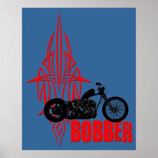 Bobber Motorbike Posters