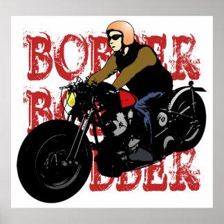 Bobber Rider Poster