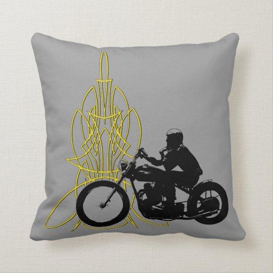 Bobber Stripe Throw Pillow