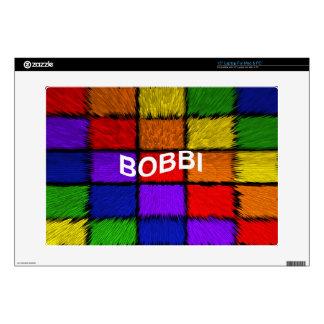 "BOBBI 15"" LAPTOP DECALS"