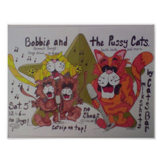 Bobbie and the pussycats poster