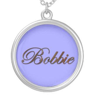 BOBBIE Name-Branded Gift Pendant Necklace