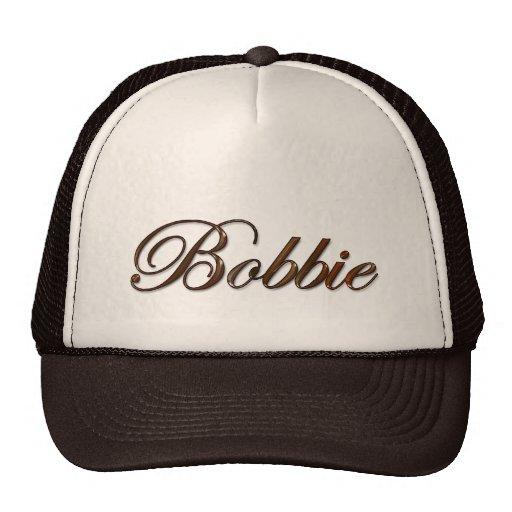 BOBBIE Name Branded Personalised Gift Hat