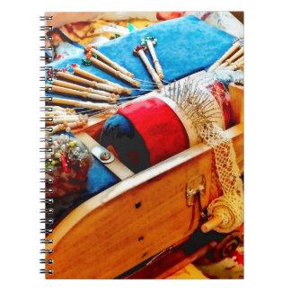 Bobbin Lace Notebook