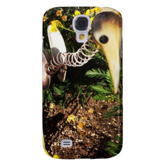 Bobbing Crane Lawn Ornament Folk Art Samsung Galaxy S4 Cover