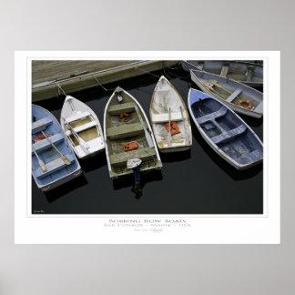 Bobbing Row Boats Print