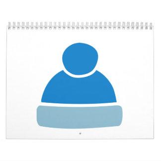 Bobble hat cap calendar