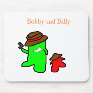 Bobby and Billy Mousepad