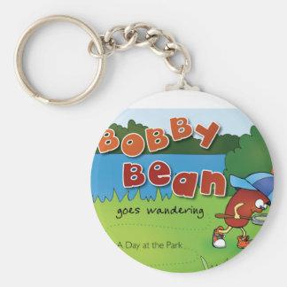 Bobby Bean Book Cover Keychain