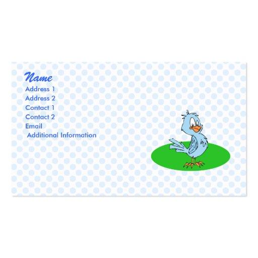 Bobby Blue Jay Business Cards