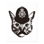 Bobby Cat Police 葉書き