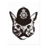 Bobby Cat Police Postcards