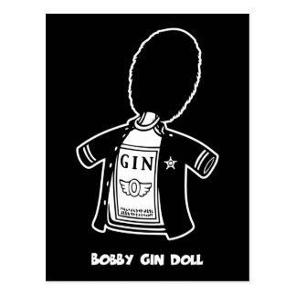 Bobby Gin Doll Postcard