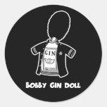 Bobby Gin Doll Sticker