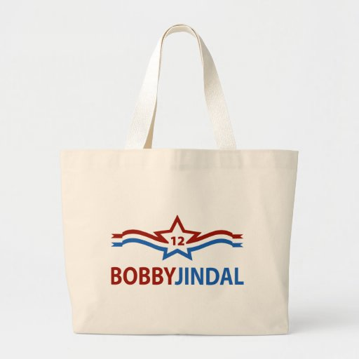 Bobby Jindal 12 Canvas Bags