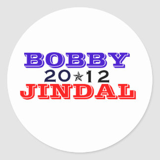 Bobby Jindal '12 Classic Round Sticker