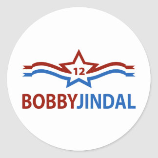 Bobby Jindal 12 Pegatina Redonda