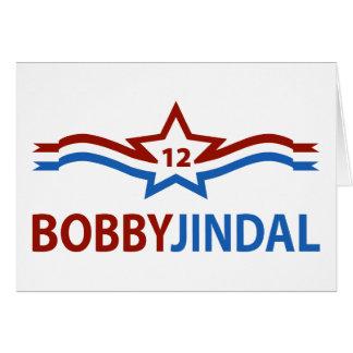 Bobby Jindal 12 Tarjeta De Felicitación