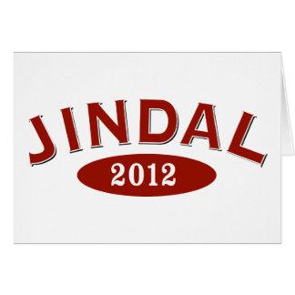Bobby Jindal 2012 Arc Card